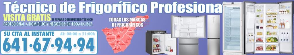 Servicio Técnico de Frigoríficos en Tenerife