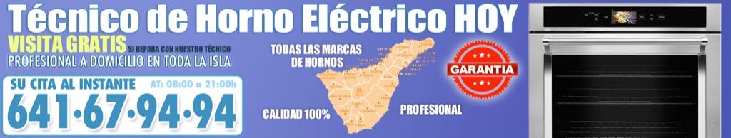 Técnico de Horno Eléctrico en Tegueste